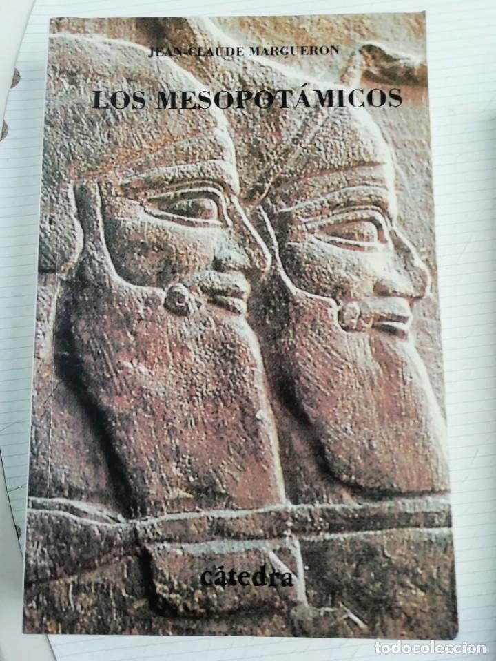 LOS MESOPOTÁMICOS, FIRMADO POR EL AUTOR (Libros Antiguos, Raros y Curiosos - Ciencias, Manuales y Oficios - Arqueología)