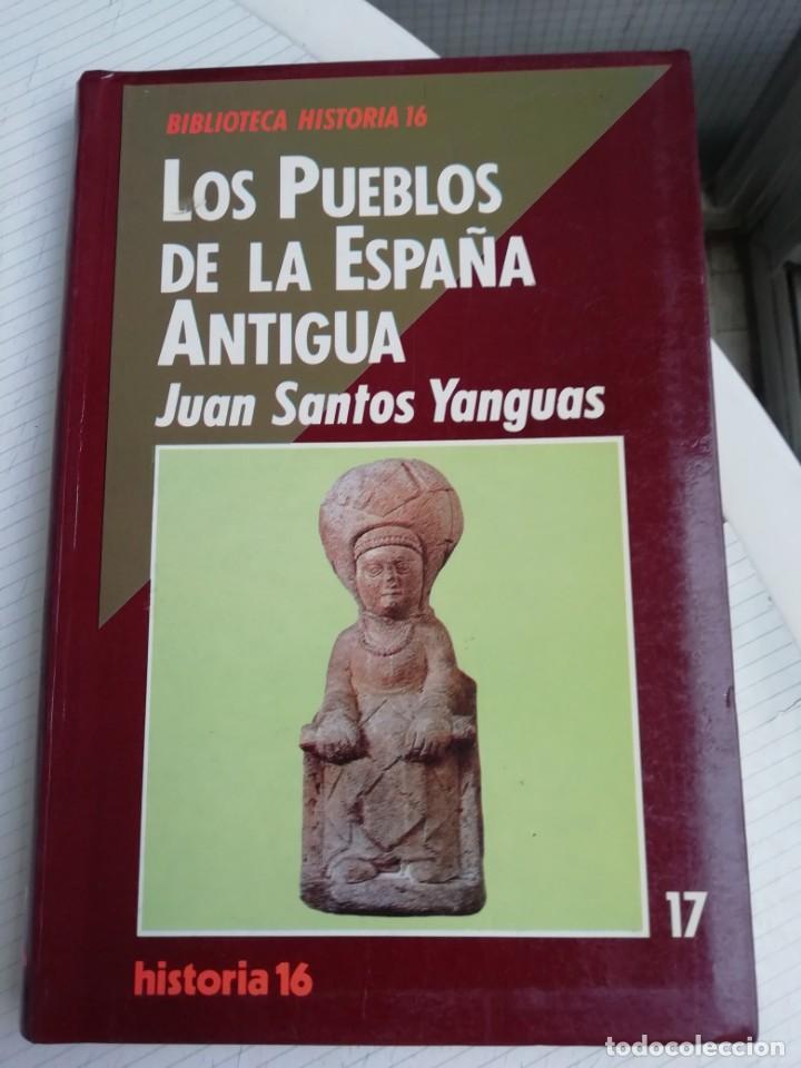 LOS PUEBLOS DE LA ESPAÑA ANTIGUA (Libros Antiguos, Raros y Curiosos - Ciencias, Manuales y Oficios - Arqueología)