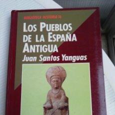 Libros antiguos: LOS PUEBLOS DE LA ESPAÑA ANTIGUA. Lote 193781567