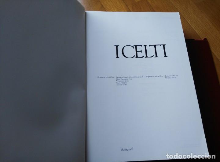 Libros antiguos: I CELTI (gran obra sobre Los Celtas en ITALIANO) 800 págs. - Foto 2 - 194009337