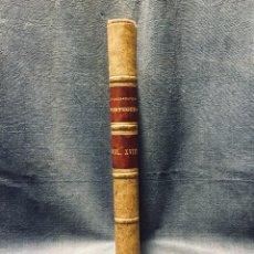 Livres anciens: O ARCHEOLOGO PORTUGUES VOL XVIII 1913 ENCUADERNADO PLENA PIEL MUSEO ETNOGRAFICO PORTUGUES 25X17CMS. Lote 196295895