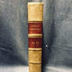 Libros antiguos: O ARCHEOLOGO PORTUGUES VOL XIX 1914 ENCUADERNADO PLENA PIEL MUSEO ETNOGRAFICO PORTUGUES 25X17CMS. Lote 196296031