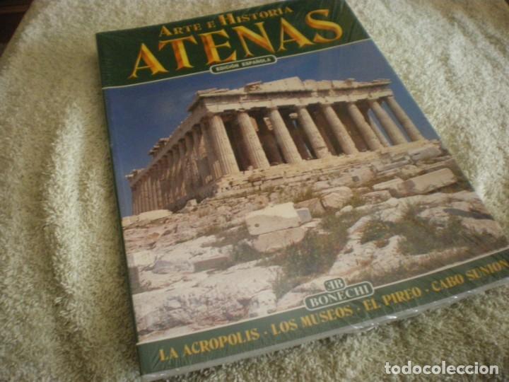 LIBRO SOBRE ARTE E HISTORIA EN ATENAS EN ESPAÑOL (Libros Antiguos, Raros y Curiosos - Ciencias, Manuales y Oficios - Arqueología)