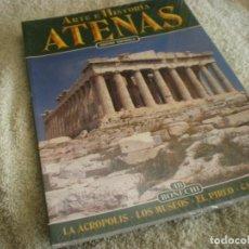Libros antiguos: LIBRO SOBRE ARTE E HISTORIA EN ATENAS EN ESPAÑOL. Lote 196609157