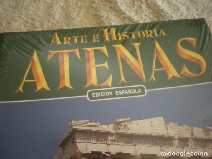 Libros antiguos: LIBRO SOBRE ARTE E HISTORIA EN ATENAS EN ESPAÑOL - Foto 3 - 196609157