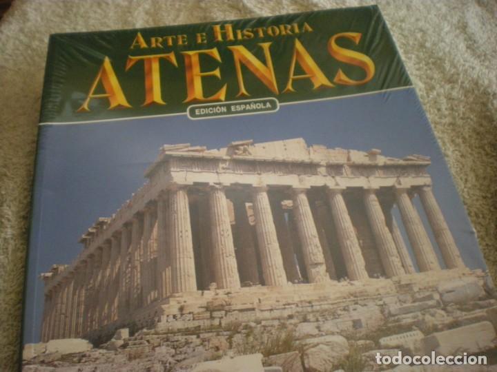 Libros antiguos: LIBRO SOBRE ARTE E HISTORIA EN ATENAS EN ESPAÑOL - Foto 6 - 196609157