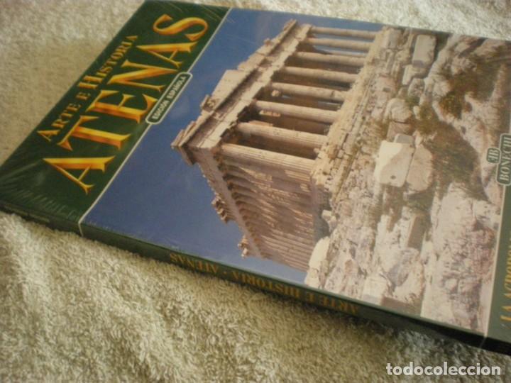 Libros antiguos: LIBRO SOBRE ARTE E HISTORIA EN ATENAS EN ESPAÑOL - Foto 7 - 196609157