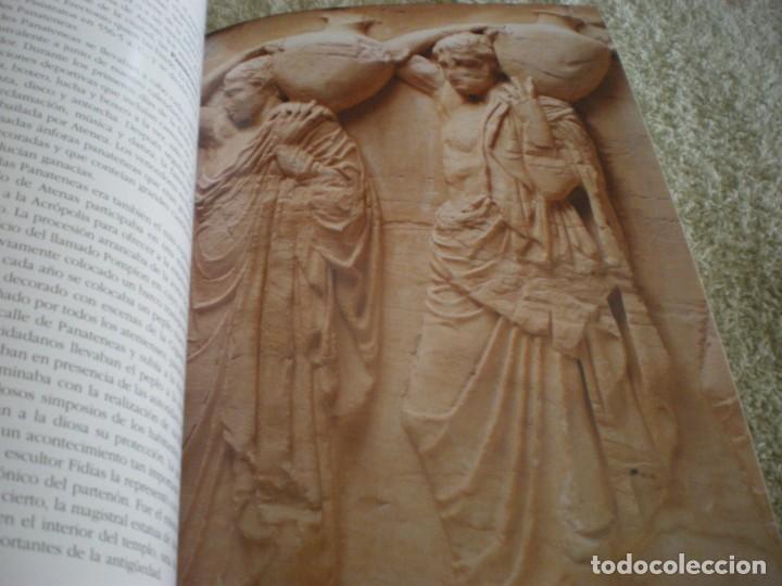 Libros antiguos: LIBRO SOBRE MITOLOGIA GRIEGA EN ESPAÑOL EN PERFECTO ESTADO. - Foto 5 - 196609443