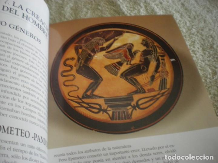 Libros antiguos: LIBRO SOBRE MITOLOGIA GRIEGA EN ESPAÑOL EN PERFECTO ESTADO. - Foto 7 - 196609443