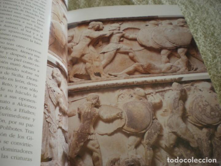 Libros antiguos: LIBRO SOBRE MITOLOGIA GRIEGA EN ESPAÑOL EN PERFECTO ESTADO. - Foto 8 - 196609443