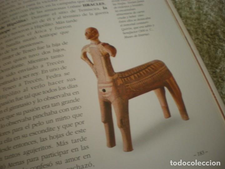 Libros antiguos: LIBRO SOBRE MITOLOGIA GRIEGA EN ESPAÑOL EN PERFECTO ESTADO. - Foto 13 - 196609443
