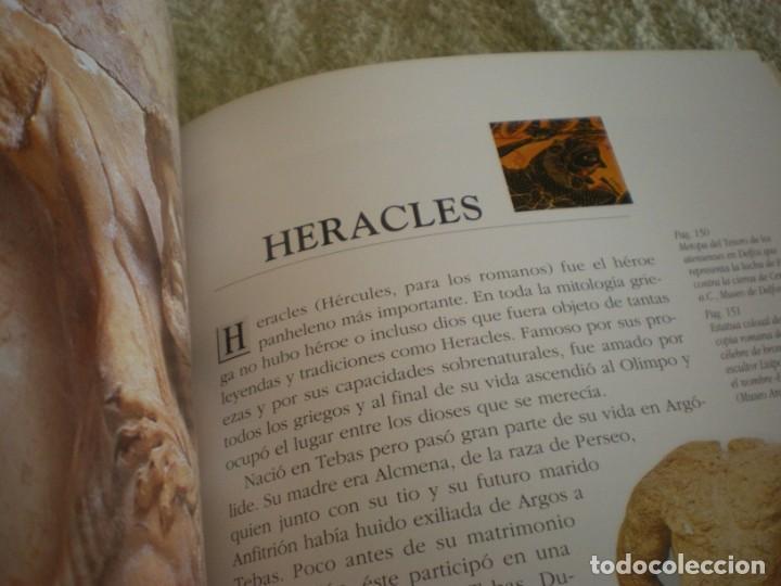 Libros antiguos: LIBRO SOBRE MITOLOGIA GRIEGA EN ESPAÑOL EN PERFECTO ESTADO. - Foto 15 - 196609443