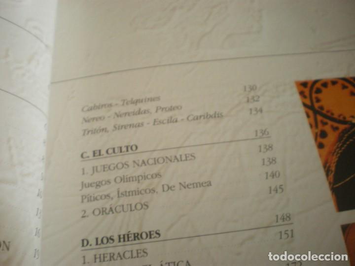 Libros antiguos: LIBRO SOBRE MITOLOGIA GRIEGA EN ESPAÑOL EN PERFECTO ESTADO. - Foto 30 - 196609443
