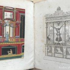 Libros antiguos: POMPEIANA: THE TOPOGRAPHY, EDIFICES ...,TOMO I, 1832. WILLIAN GELL. BIEN ILUSTRADO.. Lote 200797443