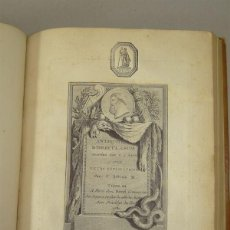 Libros antiguos: LES ANTIQUITÉS D HERCULANUM ...TOMO III, 1780. SYLVAIN/DAVID. CON 73 GRABADOS DE COBRE. Lote 201303068