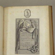 Libros antiguos: LES ANTIQUITÉS D HERCULANUM ...TOMO IV, 1780. SYLVAIN/DAVID. CON 73 GRABADOS DE COBRE. Lote 201305533