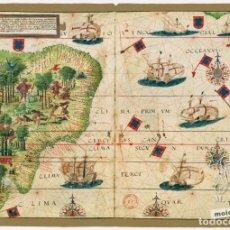 Libros antiguos: ATLAS MILLER - MOLEIRO (FACSÍMIL SIN ABRIR). Lote 203375683