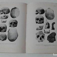 Libros antiguos: ESTUDIO ANTROPOLOGICO DE LOS PUEBLOS PREHISTORICOS DE CATALUÑA MUY RARO. Lote 203764297