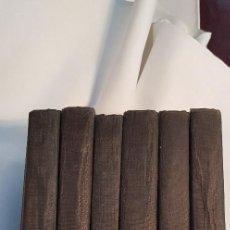 Libros antiguos: COLECCIÓN COMPLETA DE 6 TOMOS. MEDITACIONES ESPIRITUALES. 5ª EDICIÓN. P. FRANCISCO P. GARZÓN.. Lote 209857957