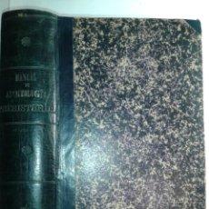 Libros antiguos: MANUAL DE ARQUEOLOGÍA PREHISTÓRICA 1890 MANUEL DE LA PEÑA Y FERNÁNDEZ. Lote 213447371