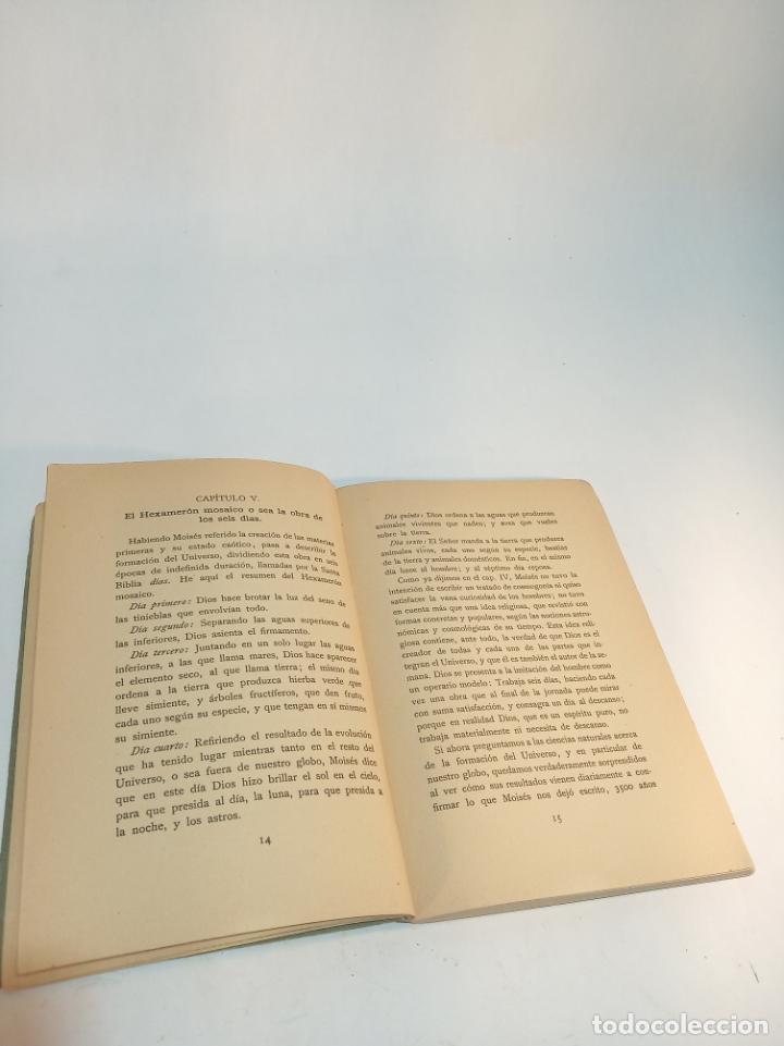 Libros antiguos: Estrella fijas. Dr. Agustín Hombrach. El origen del mundo y del hombre. Friburgo de Brisgovia. 1926. - Foto 3 - 217026745