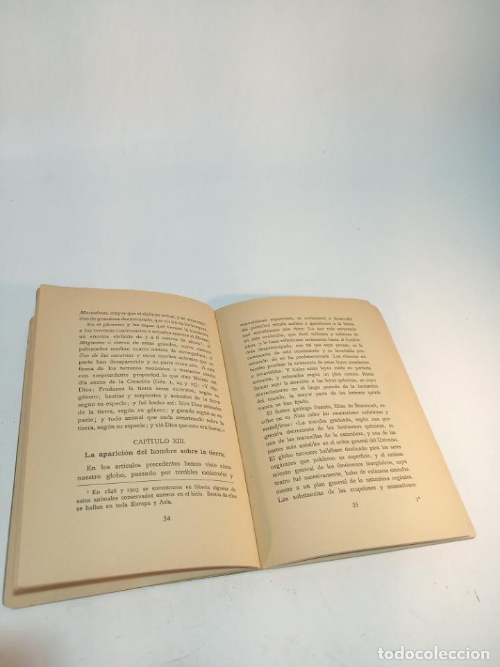 Libros antiguos: Estrella fijas. Dr. Agustín Hombrach. El origen del mundo y del hombre. Friburgo de Brisgovia. 1926. - Foto 4 - 217026745