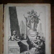 Libros antiguos: PIGNORII PATAVINI, LAURENTII (LORENZO PIGNORIA): MENSA ISIACA ... AEGYTIOS ... 1669 EGIPTOLOGÍA. Lote 179192745