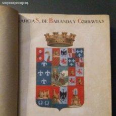 Libros antiguos: GUÍA ARQUEOLÓGICA Y DE TURISMO DE LA PROVINCIA DE GUADALAJARA. J. G. SÁINZ DE BARANDA, L. CORDAVIAS. Lote 225832175
