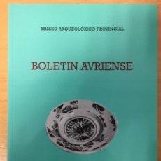 Libros antiguos: BOLETÍN AVRIENSE. TOMO XLV. MUSEO ARQUEOLÓXICO PROVINCIAL OURENSE. 2015. Lote 229162265