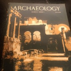 Libros antiguos: ARCHAEOLOGY , AÑO 1.975 Nº 4. Lote 241058220
