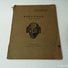 Libros antiguos: PITYUSAS CICLO FENICIO 1931 ARQUEOLOGIA MUY RARO. Lote 246487670