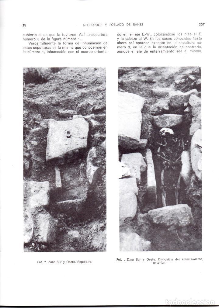 Libros antiguos: 10 TOMOS REVISTA MUNIBE CIENCIAS NATURALES DE PAIS VASCO Y NAVARRA AÑOS 1663 AL 1976 - Foto 9 - 248006560