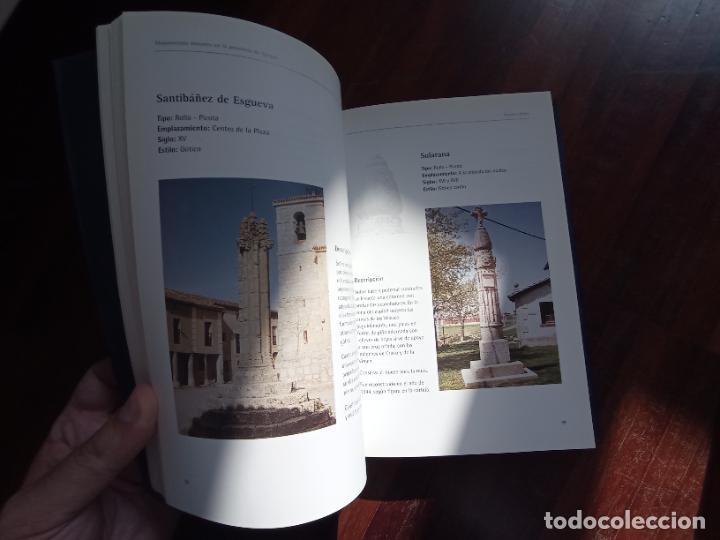 Libros antiguos: Monumentos menores en la provincia de Burgos. Inventario de picotas, rollos y cruceros. Santiago Tar - Foto 5 - 256023675