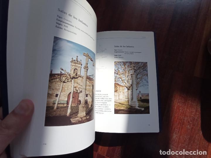 Libros antiguos: Monumentos menores en la provincia de Burgos. Inventario de picotas, rollos y cruceros. Santiago Tar - Foto 8 - 256023675