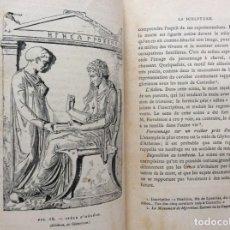 Libros antiguos: MANUEL D'ARCHÉOLOGIE GRECQUE. COLLIGNON MAXIME. 1881, ILUSTRADO. MUY ESCASSO. Lote 264492734