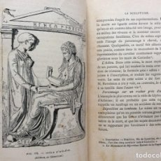Libros antiguos: MANUEL D'ARCHÉOLOGIE GRECQUE. COLLIGNON MAXIME. 1881, ILUSTRADO. MUY ESCASSO. Lote 276316448