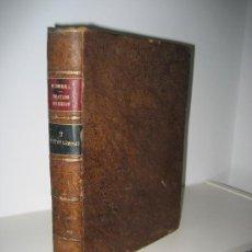 Libros antiguos: 1869.- ARQUITECTURA. TRATADO TEÓRICO PRÁCTICO DE DIBUJO CON APLICACIÓN INDUSTRIAL. M. BORRELL. Lote 26402403