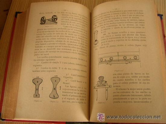 Libros antiguos: ELEMENTOS DE CARRETERAS Y FERROCARRILES(CONSTRUCCIÓN Y CONSERVACIÓN)-FRANCISCO PONTE Y BLANCO 1899 - Foto 3 - 25847899