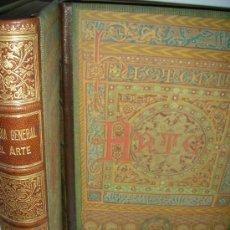 Libros antiguos: HISTORIA GENERAL DEL ARTE, ARQUITECTURA, 1886, L. DOMENECH, 2 TOMOS. Lote 26672493