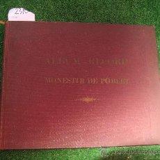 Libros antiguos: 1930. POBLET. ALBUM RECORD. COMISSARIAT RESTAURACIO GENERALITAT . Lote 27618843