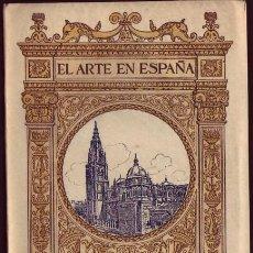Libros antiguos: EL ARTE EN ESPAÑA. PATRONATO NACIONAL DEL TURISMO. EDICIÓN THOMAS (36 TOMOS).. Lote 27568213