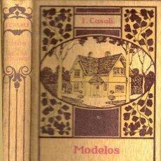 Libros antiguos: MODELOS DE EDIFICIOS ECONÓMICOS – AÑO 1922. Lote 26763564