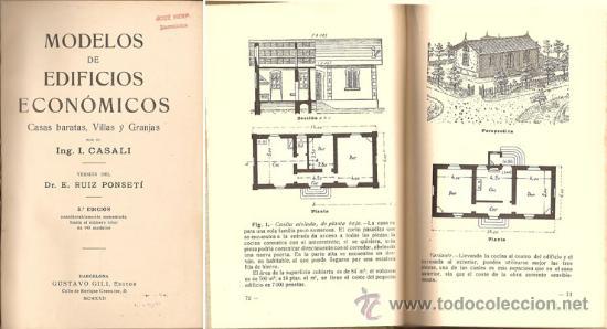 Libros antiguos: MODELOS DE EDIFICIOS ECONÓMICOS – AÑO 1922 - Foto 2 - 26763564