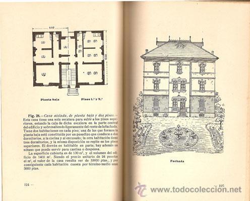Libros antiguos: MODELOS DE EDIFICIOS ECONÓMICOS – AÑO 1922 - Foto 3 - 26763564