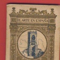 Libros antiguos: PALENCIA EL ARTE EN ESPAÑA Nº 16 EDICION THOMAS 62 PAG -48 ILUSTRACIONES FOTOGRAFICAS.. Lote 22704821
