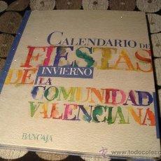 Old books - Calendario de fiestas de invierno de la comunidad valenciana - 23439387