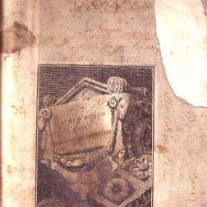 Libros antiguos: AUREO TUTTO E PIEN DELE OPRE ANTICHE. Lote 23534229