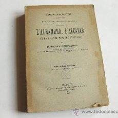 Libros antiguos: ESTUDIO DESCRIPTIVO DE LOS MONUMENTOS ARABES DE GRANADA SEVILLA Y CORDOBA - RAFAEL CONTRERAS 1889. Lote 24444023