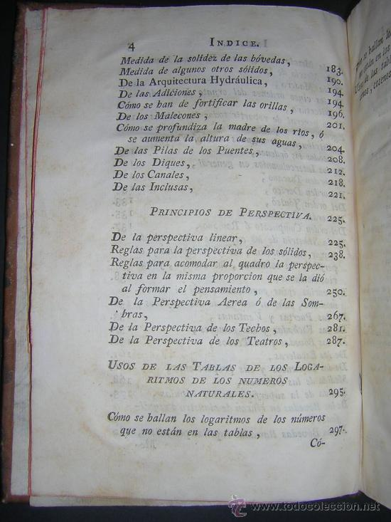 Libros antiguos: 1776 - BENITO BAILS - PRINCIPIOS DE MATEMATICA - TOMO III: ARQUITECTURA, PERSPECTIVA - 30 LAMINAS - Foto 6 - 27456955