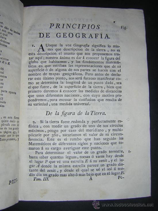 Libros antiguos: 1776 - BENITO BAILS - PRINCIPIOS DE MATEMATICA - TOMO III: ARQUITECTURA, PERSPECTIVA - 30 LAMINAS - Foto 7 - 27456955